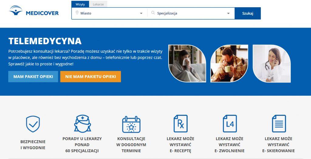 Informacje otelemedycynie nastronie medycznej - Simpliteca